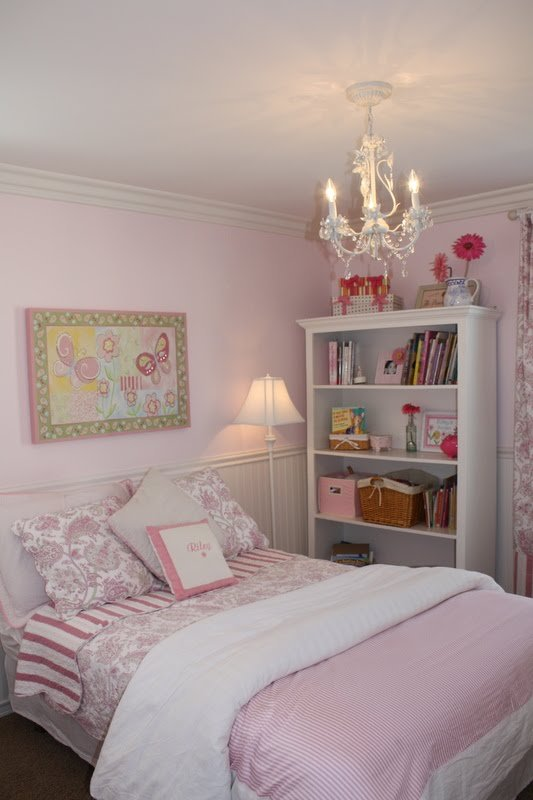 A Little Girl's Pink Bedroom - A Thoughtful Place