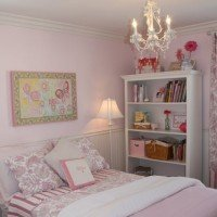 A Little Girl's Pink Bedroom