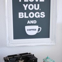 I Love These Blogs and Coffee!