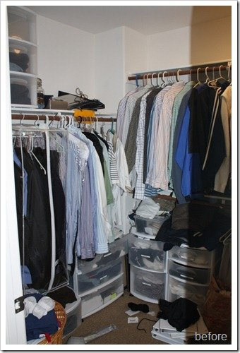 Master Bedroom Closet Makeover A Thoughtful Place