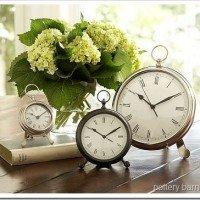 Fun Find: Pottery Barn Desk Clock