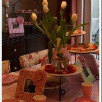 Tea Party & Flower Frames