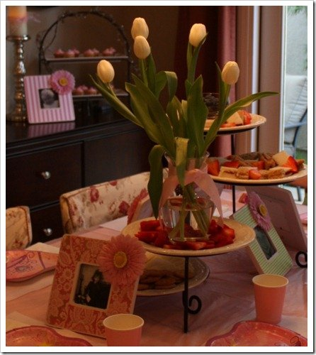 Tea Party & Flower Frames
