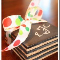 Chalkboard Coasters and Tutorial