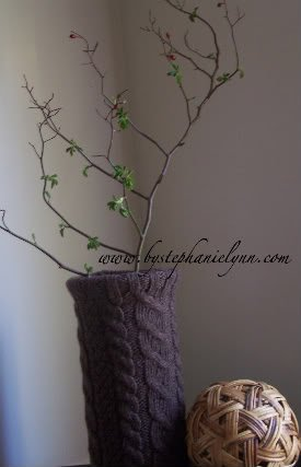 I heart Cable Knit: Upcycled Sweater