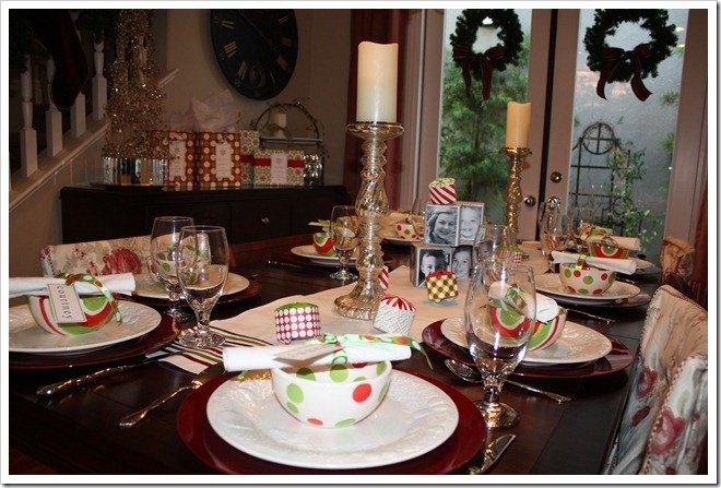 A Christmas Eve Tabletop