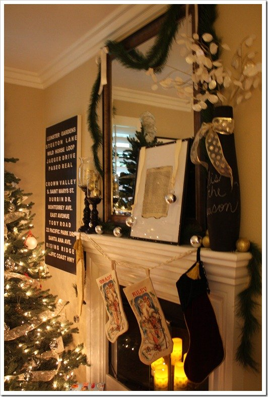 Home Tour: Final Christmas Touches