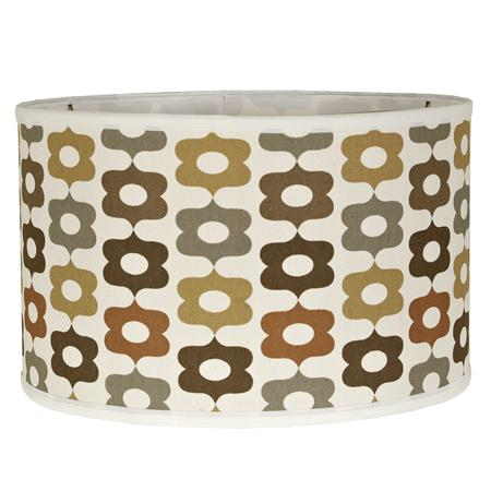 Mod Flower Drum Lampshade (2 colors!)