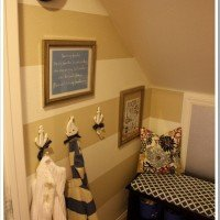Mini Mudroom Reveal