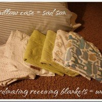 Do it Yourself: Blanket Turned Pillowcase