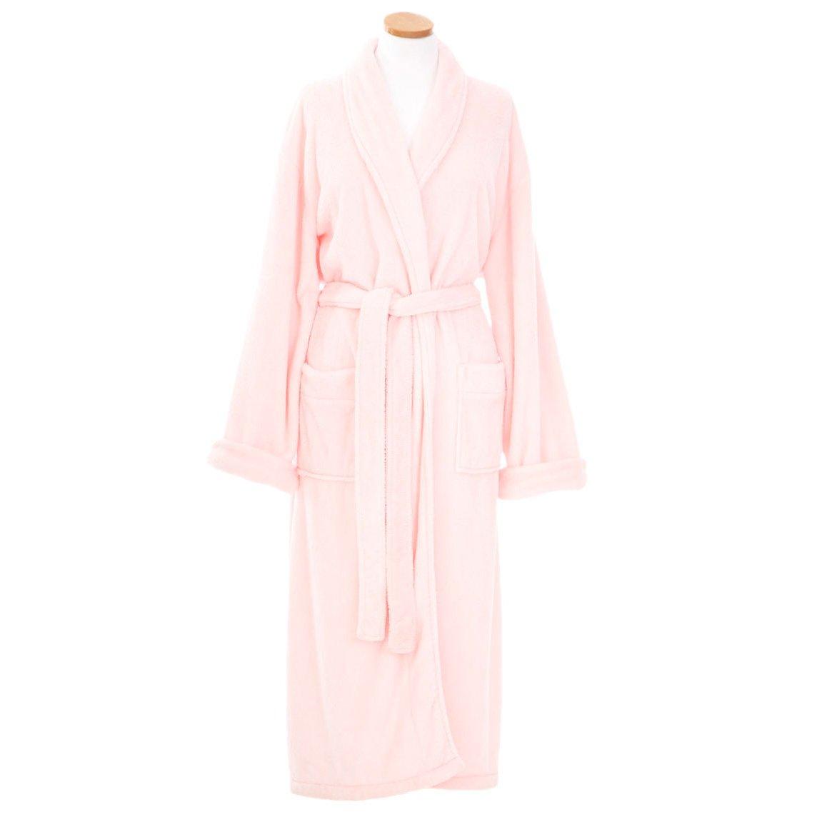 Pine Cone Hill Sheepy Fleece Pale Rose Robe