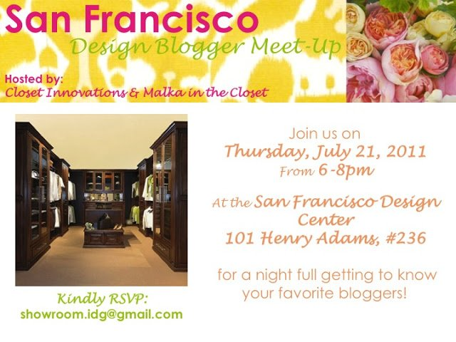 San Francisco Blogger Meet-Up & Take Five