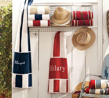 Awning Stripe Beach Towel