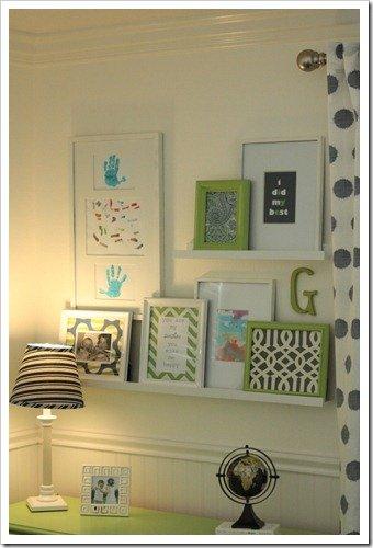 Big Boy Room: Gallery Wall