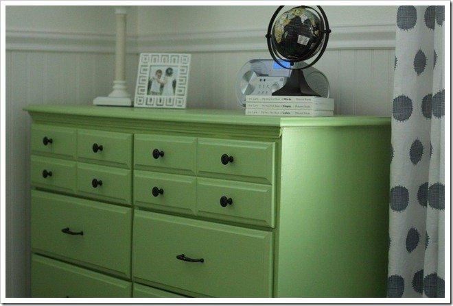 Big Boy Room: Before & After Dresser