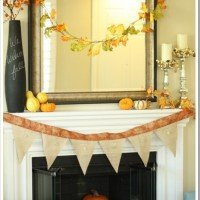 Falling into the Season: Our Mantel