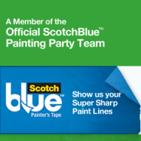 Scotch Blue Painting Party–Big Boy Closet