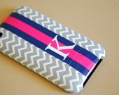 PRETTY SMITTEN Home & Accessories - Personalized iPhone Case, you pick pattern, colors