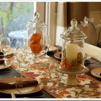 A Fall Tablescape: Birthday Dinner