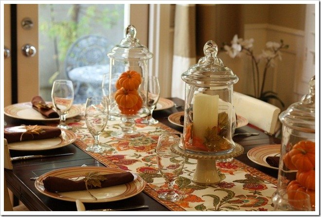 A Fall Tablescape Birthday Dinner A Thoughtful Place