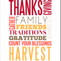 Free Thanksgiving Printable & Jylare is Coming!