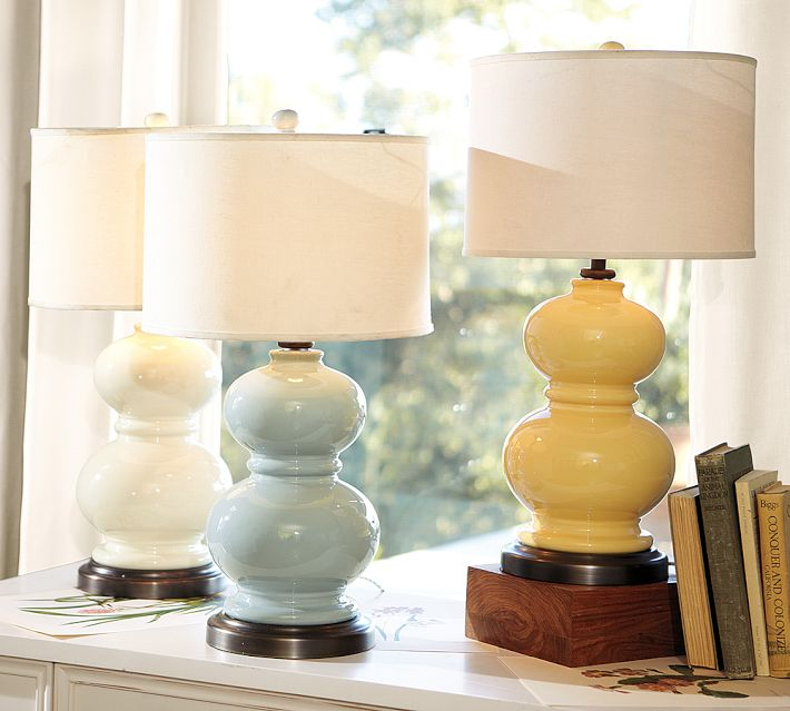 Pottery Barn Alexis Lamp: Just Four Things: Which One Wednesday