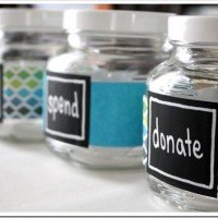 DIY Money Jars: Save, Spend, Donate