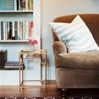 DIY Brass Side Table for Under $20