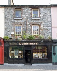Courtney's Bar in Killarney - a very traditional and well known Irish pub - Click for larger size image