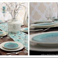 A Pretty Turquoise Table