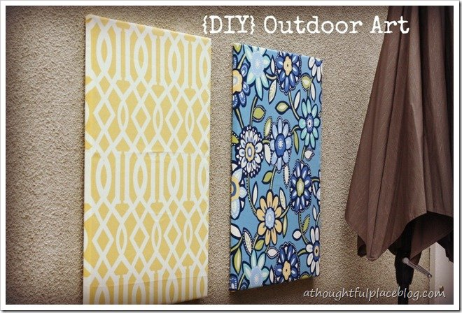 Diy Exterior Wall Decor : Diy outdoor art a thoughtful place