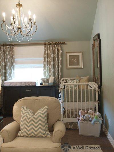 Elegant Baby Boy Nursery: Friday Eye Candy: Elegant Nursery