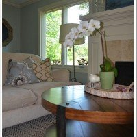 Client Living Room: Before & After