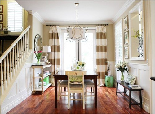 Options for Making Striped Drapes - A Thoughtful Place