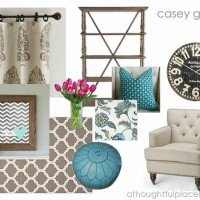 Style Board {Splash of Aqua}