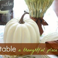 Fall Tabletop 2012 {Coffee Inspired}