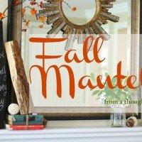 Fall Mantel {2012}