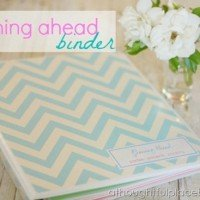 Planning Ahead Binder {I Heart Organizing Guest Post}