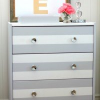 """MyColor™ inspired by Pantone® Painting Party"" {Striped Dresser}"