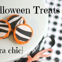 Halloween Treats {Zebra Chic Cookies}