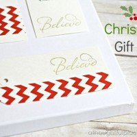 {DIY} Christmas Gift Tags