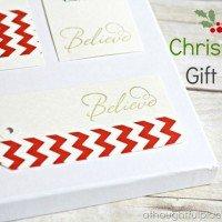 {DIY} Christmas Gift Tags