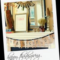 Be Thankful {DIY Thanksgiving Banner}