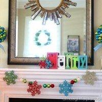 Our Christmas Mantel 2012