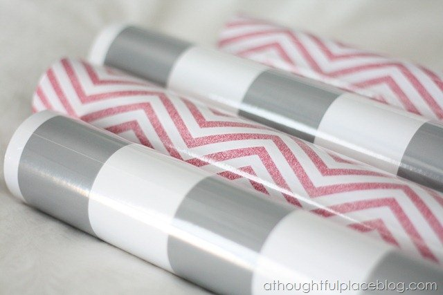 Great Find {Stripes and Chevron Wrapping Paper} - A Thoughtful Place