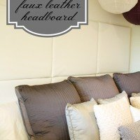 {DIY} How to Make a Paneled Padded Headboard