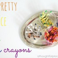 How to Keep Crayons Neat & Tidy