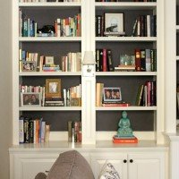 CGD Decorating Tip #1: Backing Your Bookcase