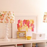 Tangerine Room Makeover: New Lamps