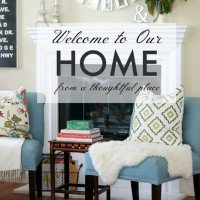 Home Tour from A Thoughtful Place